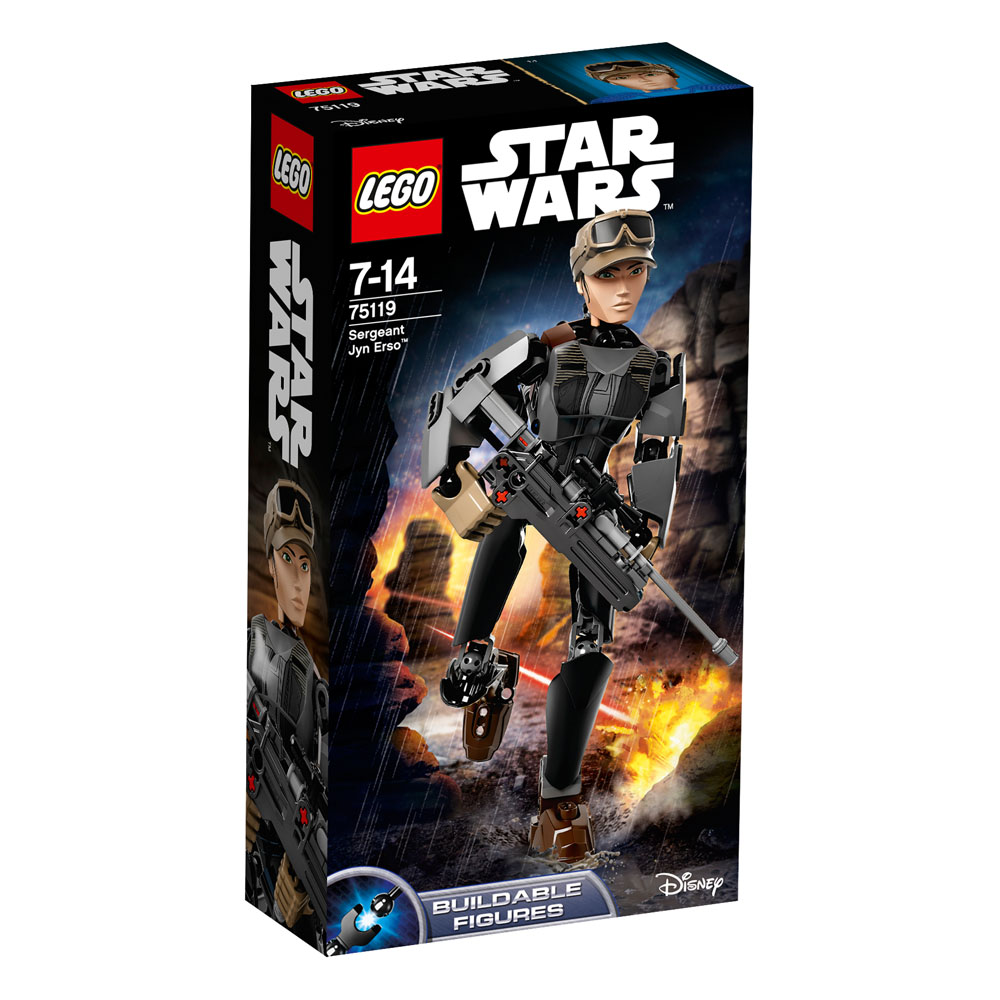 75119 LEGO Sergeant Jyn Erso? STAR WARS CONSTRACTION