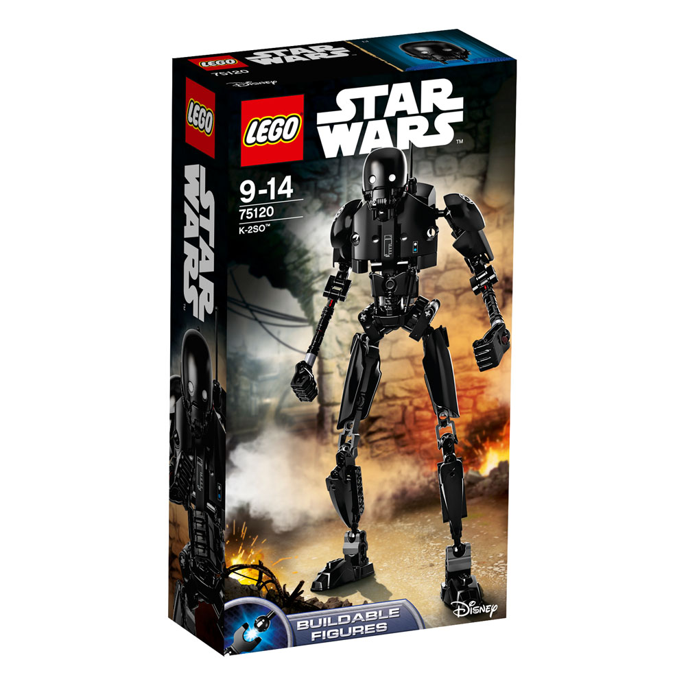 75120 LEGO K-2SO Droid 29cm Figure STAR WARS CONSTRACTION