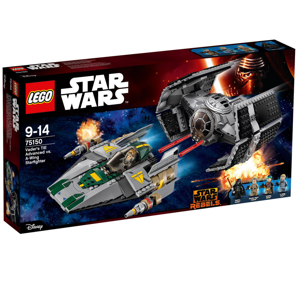 75150 LEGO Vader's Tie Advanced Vs. A-Wing Starfigh STAR WARS