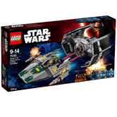 75150 LEGO Vader's Tie Advanced Vs. A-Wing Starfigh STAR WARS