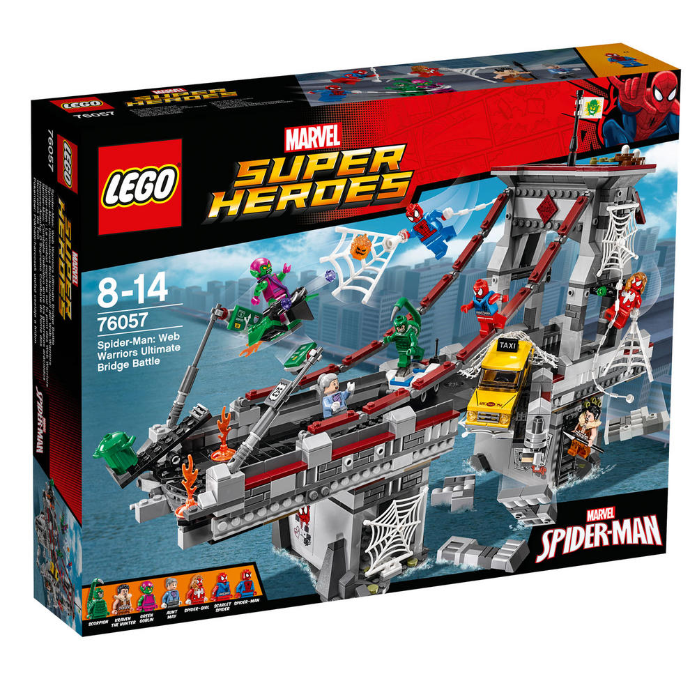 76057 LEGO Spider-Man: Web Warriors Ultimate Bridge SUPER HEROES