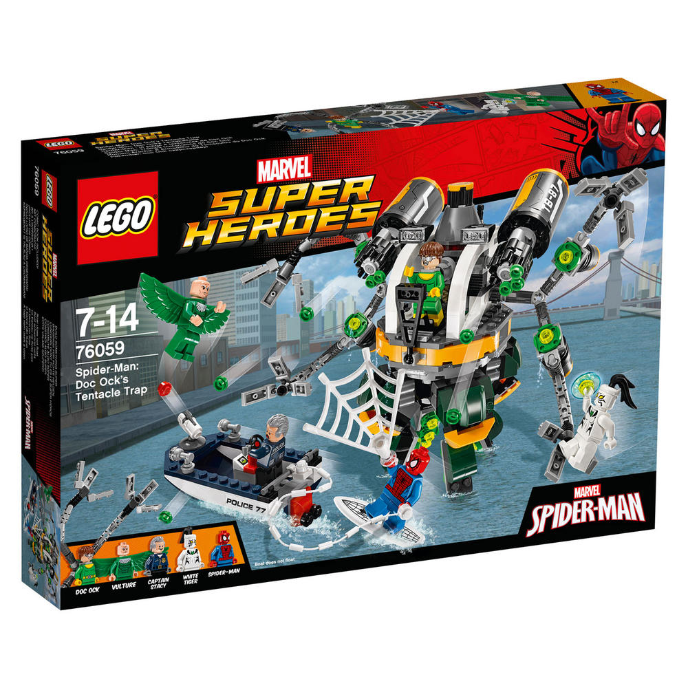 76059 LEGO Spider-Man: Doc Ock's Tentacle Trap SUPER HEROES
