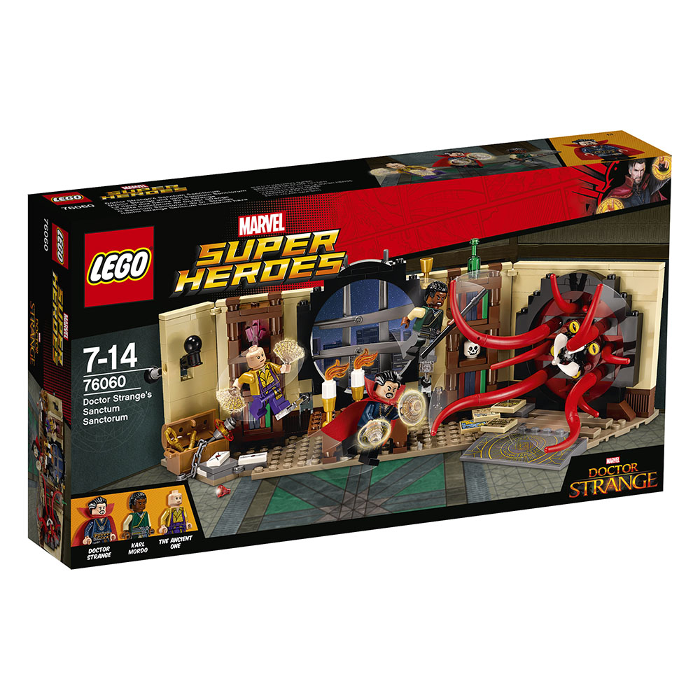 76060 LEGO Doctor Strange's Sanctum Sanctorum Spider-Man 4 SUPER HEROES