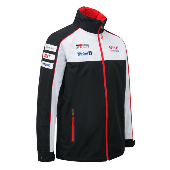 Toyota Motorsport Mens Lightweight Jacket Coat TS050 Hybrid Gazoo Racing Le Mans