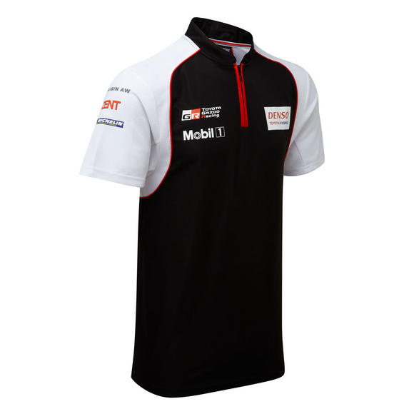 Toyota Motorsport Mens Polo Shirt 2016 Gazoo Racing Le Mans Team TS050 Hybrid