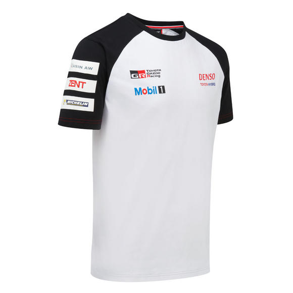 Toyota Motorsport Mens T-Shirt 2016 Gazoo Racing Le Mans Team TS050 Hybrid Car