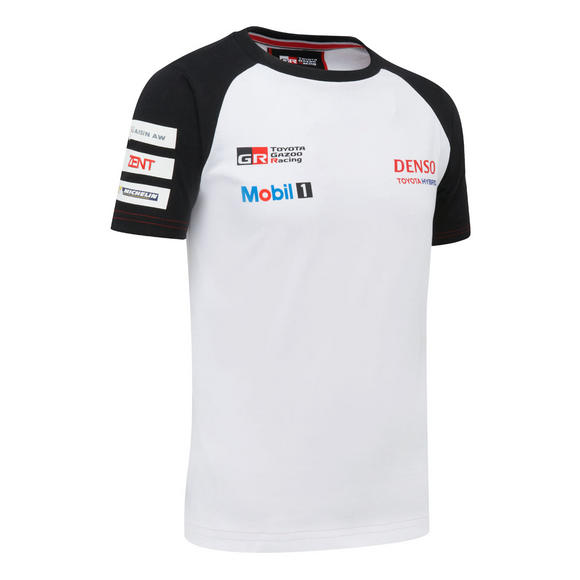 Toyota Motorsport Childrens Kids T-Shirt Age 4-11 2016 Gazoo Racing Le Mans Team