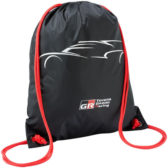Toyota Motorsport Team Pullsbag Pull String Bag 2016 Gazoo Racing Le Mans Car