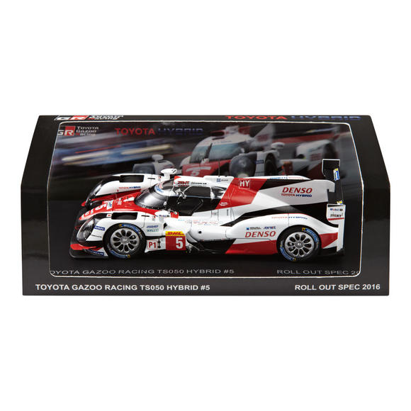 Toyota TS050 Hybrid Le Mans Race Car Model 1/43 Scale in Box 2016 Gazoo Racing