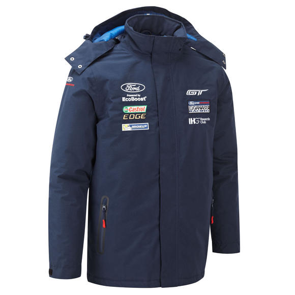 Ford Motorsport Mens Heavyweight Winter Jacket Coat - WEC Ford GT Ganassi Racing