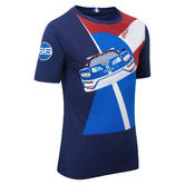 Ford GT Childrens Boys Kids Race Car Graphic T-Shirt - World Endurance Race Team