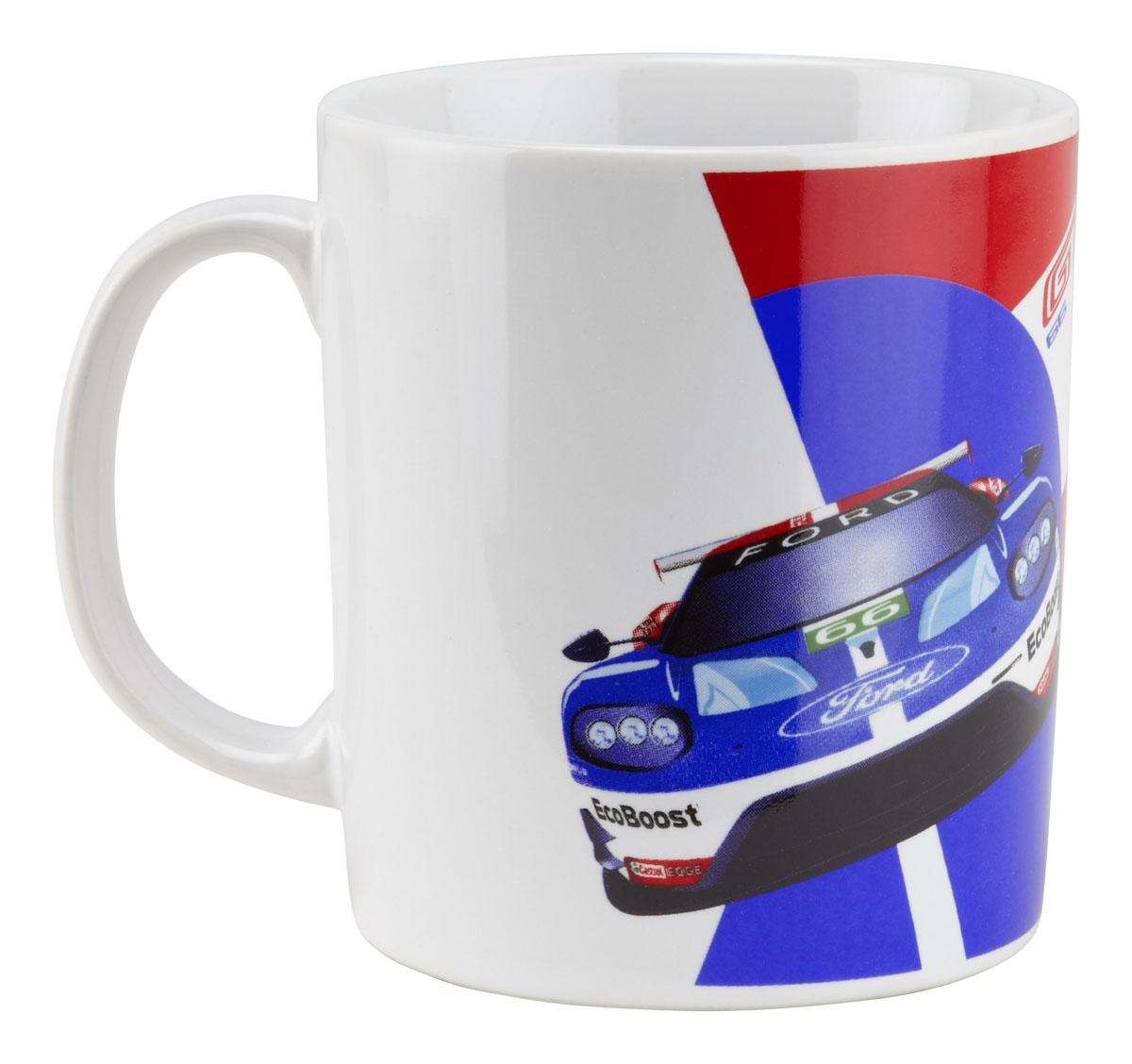 Ford Gt Race Car Coffee Mug  Wec Ford Gt Chip Ganassi Racing Team