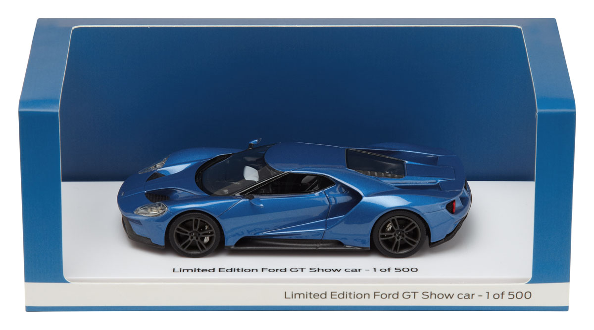Ford Gt Show Car Model Car  Scale In Box Limited Edition  Made