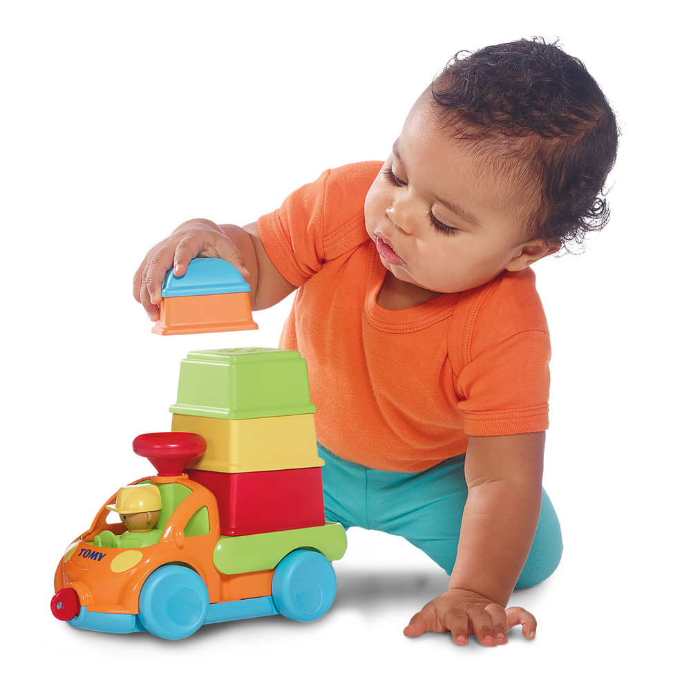 Baby Toys Age 10 : E tomy pack stack play truck in toy baby