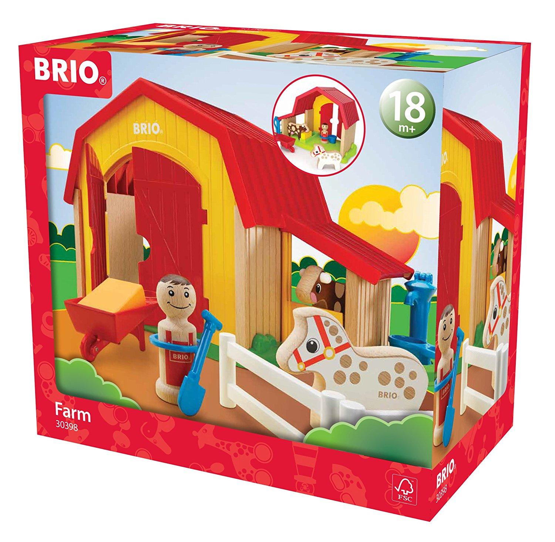BRIO-Railway-Rolling-Stock-Full-Range-of-Wooden-Train-Rolling-Stock-Children-1yr thumbnail 4