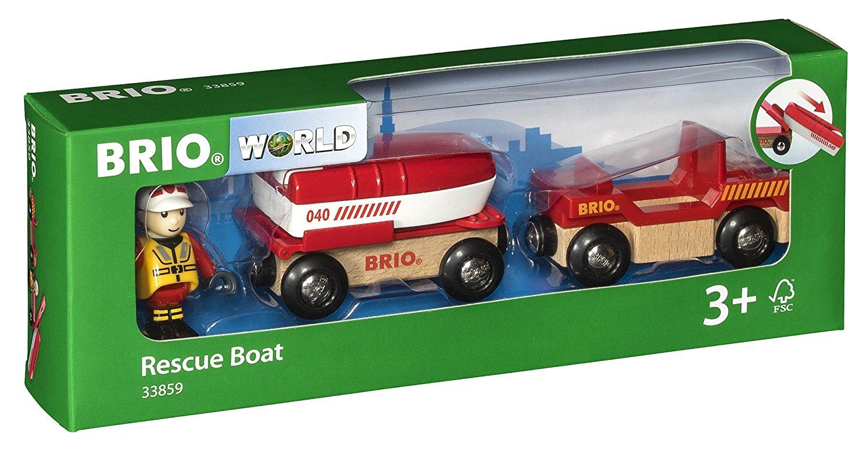 BRIO-Railway-Rolling-Stock-Full-Range-of-Wooden-Train-Rolling-Stock-Children-1yr thumbnail 45