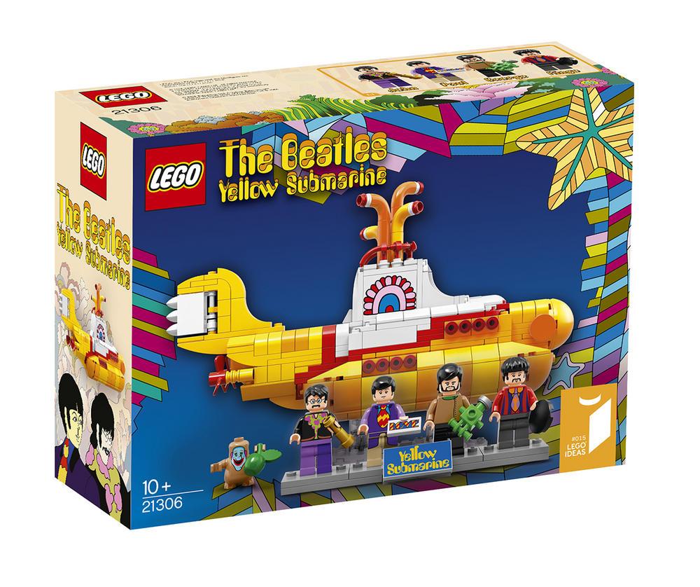21306 LEGO The Beatles Yellow Submarine IDEAS