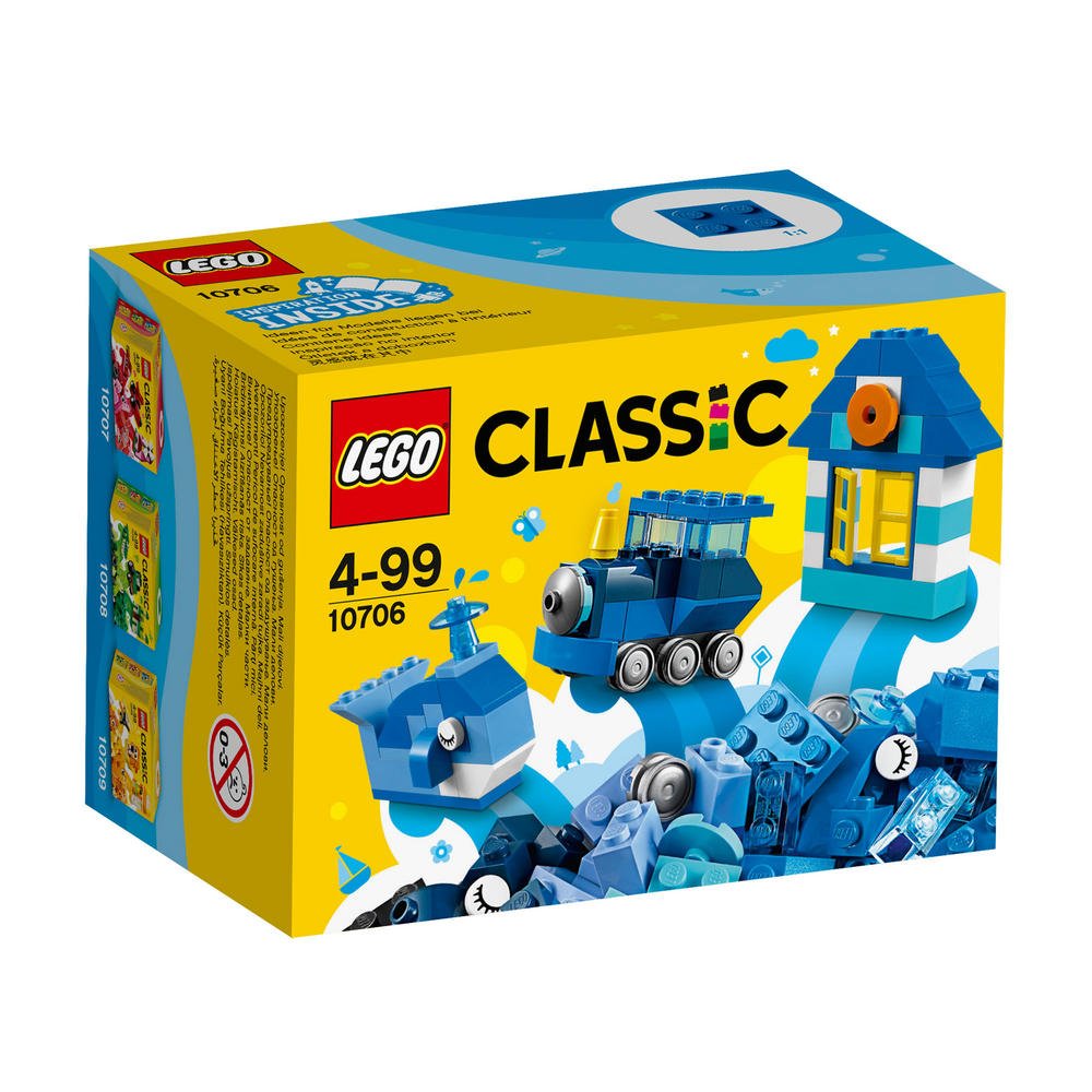10706 LEGO Blue Creativity Box CLASSIC