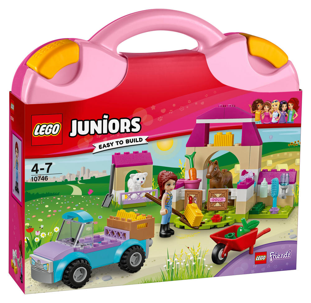 10746 LEGO Mia's Farm Suitcase JUNIORS