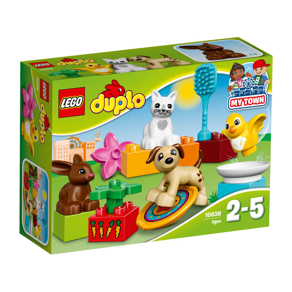 10838 LEGO Family Pets DUPLO TOWN