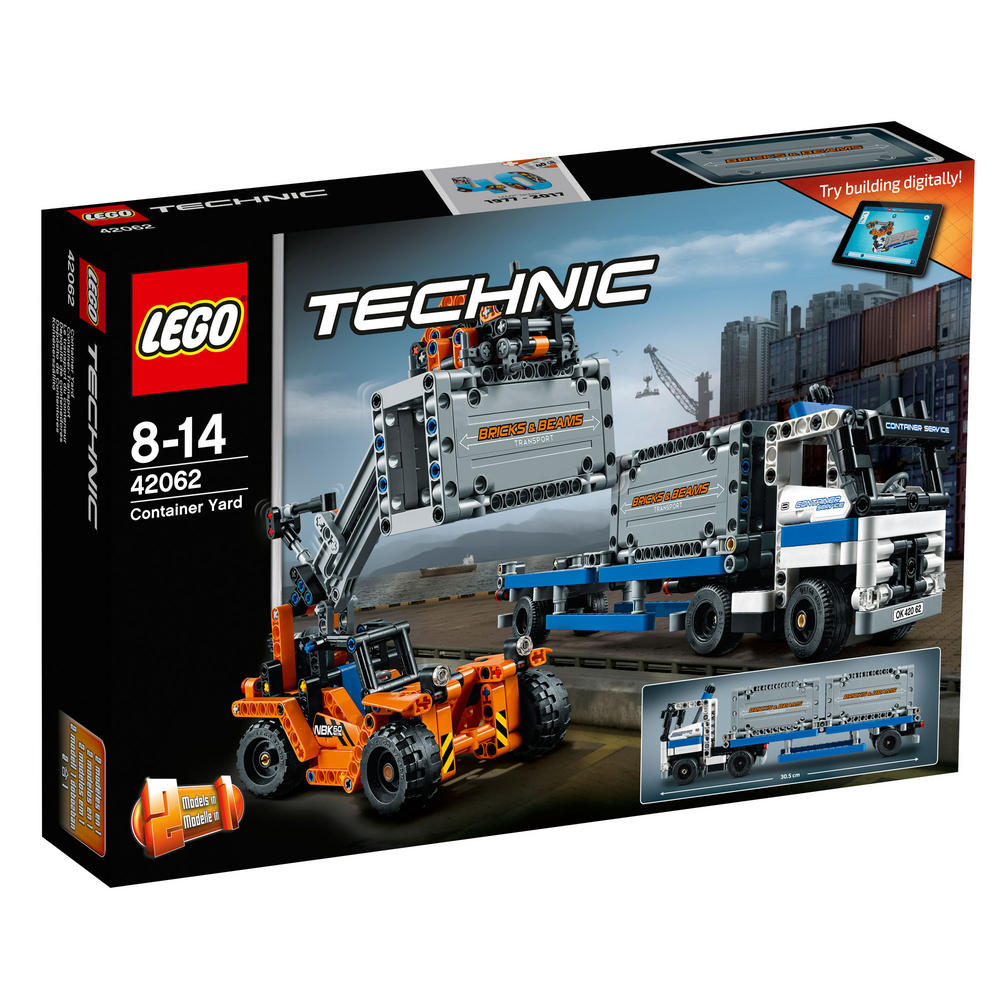 42062 LEGO Container Yard TECHNIC