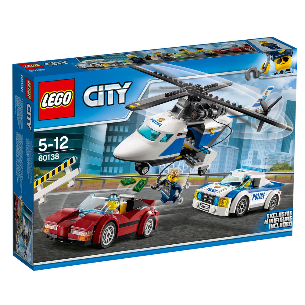 60138 LEGO High-Speed Chase CITY POLICE