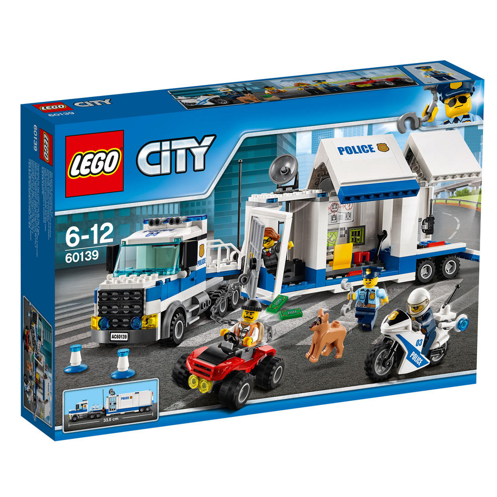 60139 LEGO Mobile Command Center CITY POLICE