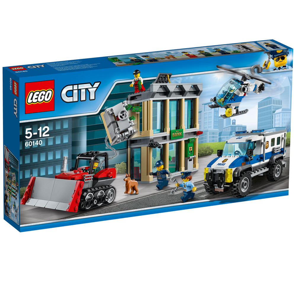 60140 LEGO Bulldozer Break-In CITY POLICE
