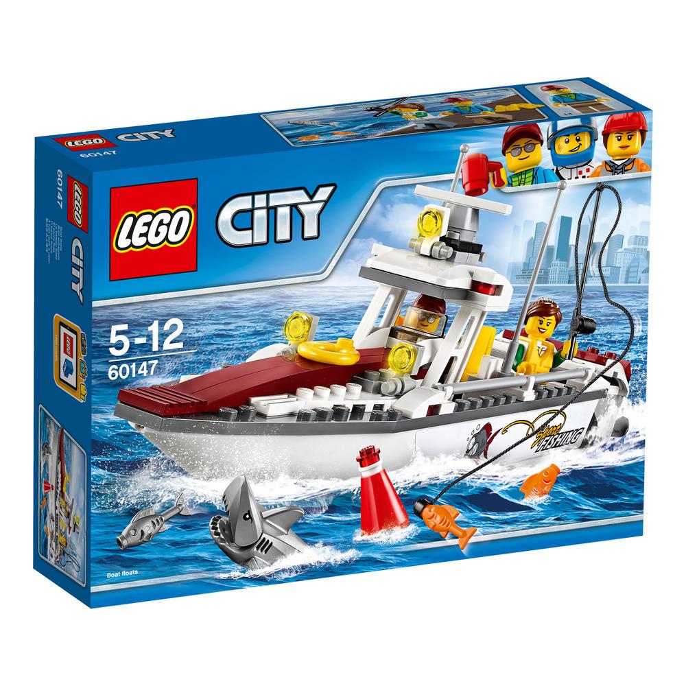 60147 LEGO Fishing Boat CITY GREAT VEHICLES