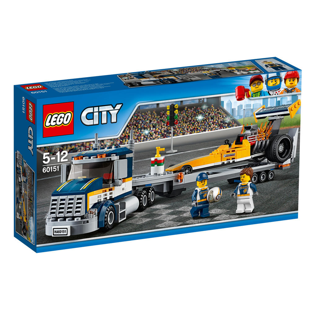 60151 LEGO Dragster Transporter CITY GREAT VEHICLES