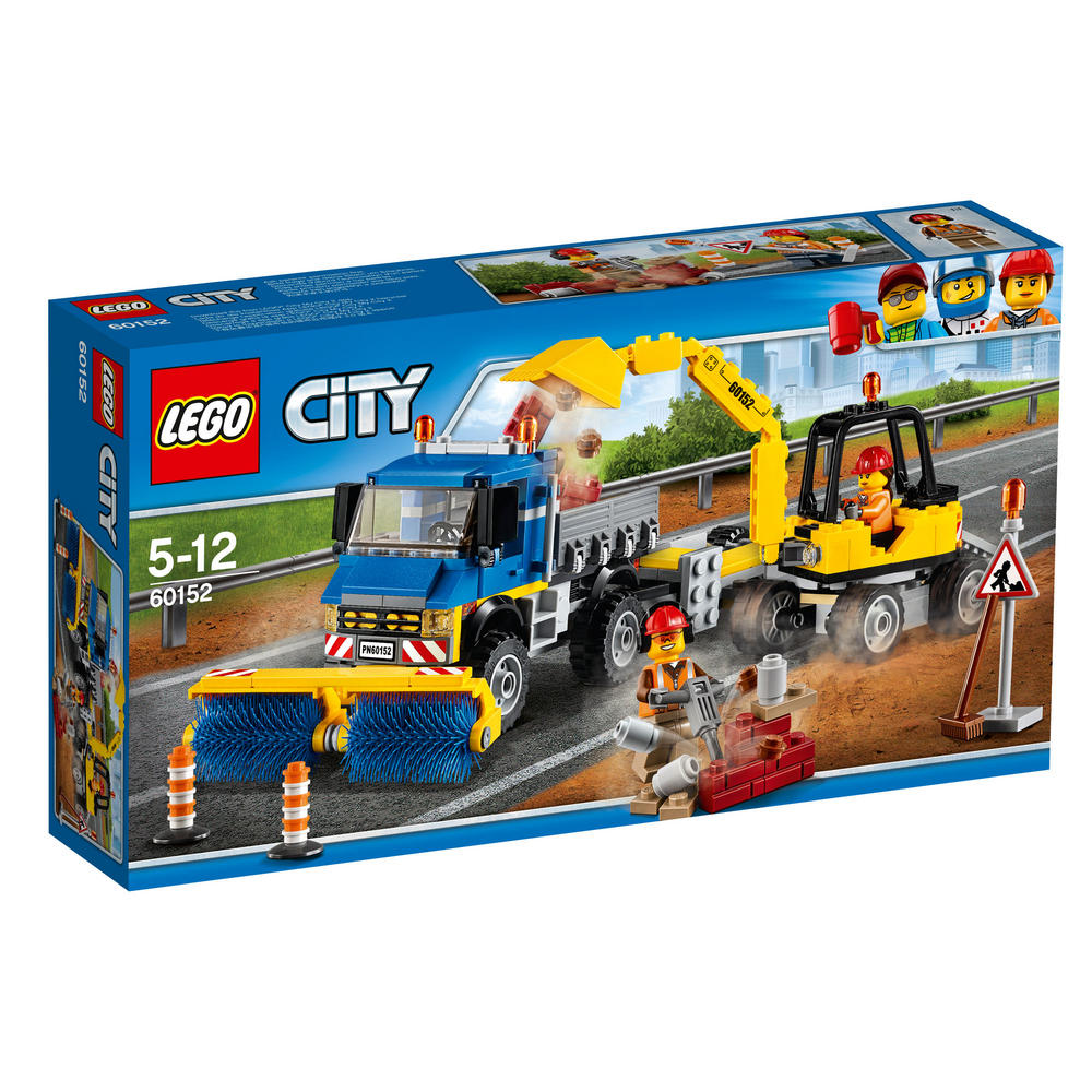 60152 LEGO Sweeper & Excavator CITY GREAT VEHICLES