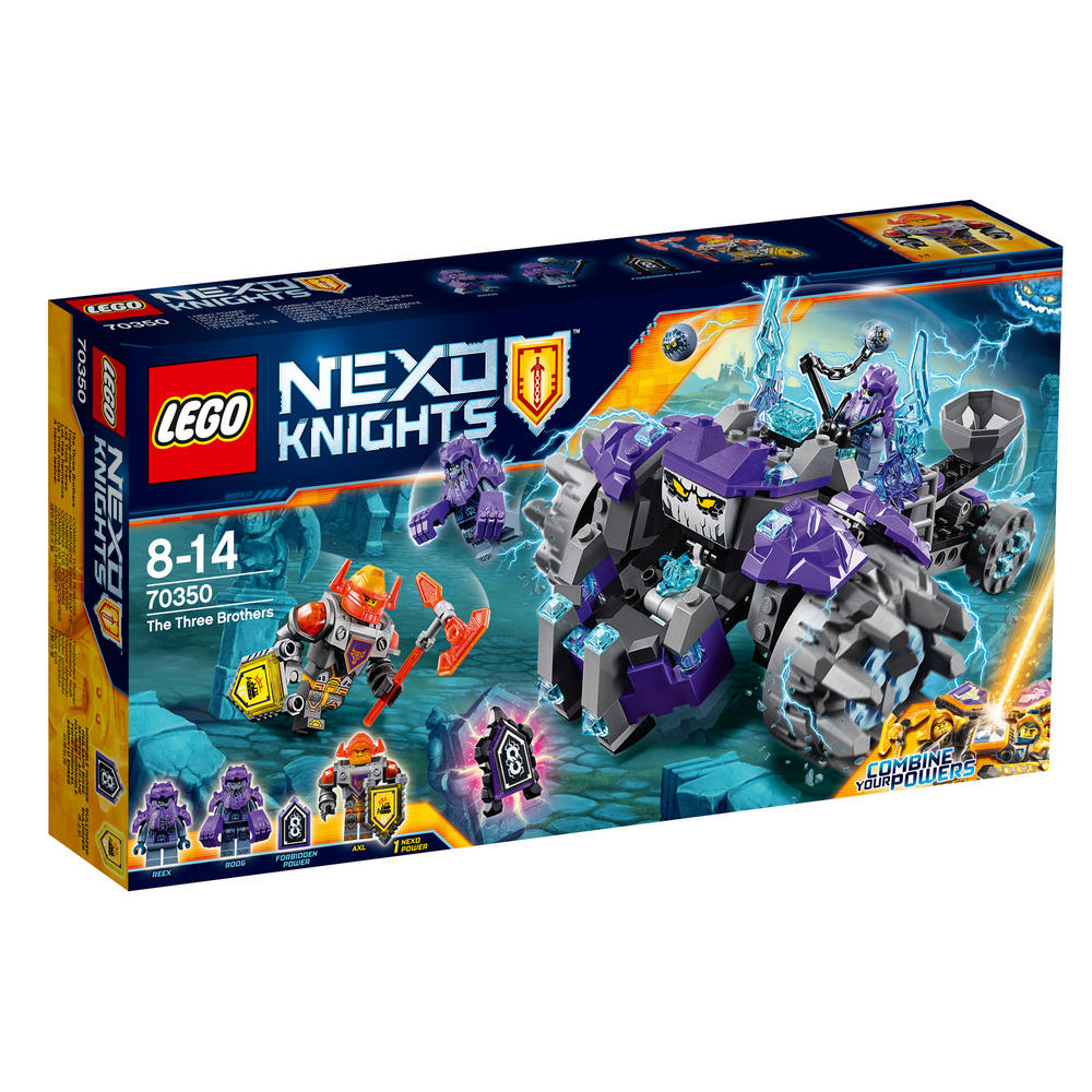 70350 LEGO The Three Brothers NEXO KNIGHTS