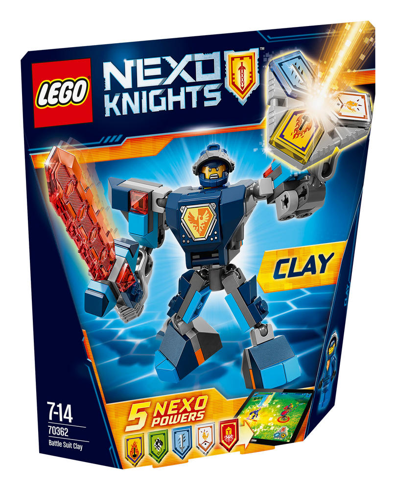 70362 LEGO Battle Suit Clay NEXO KNIGHTS