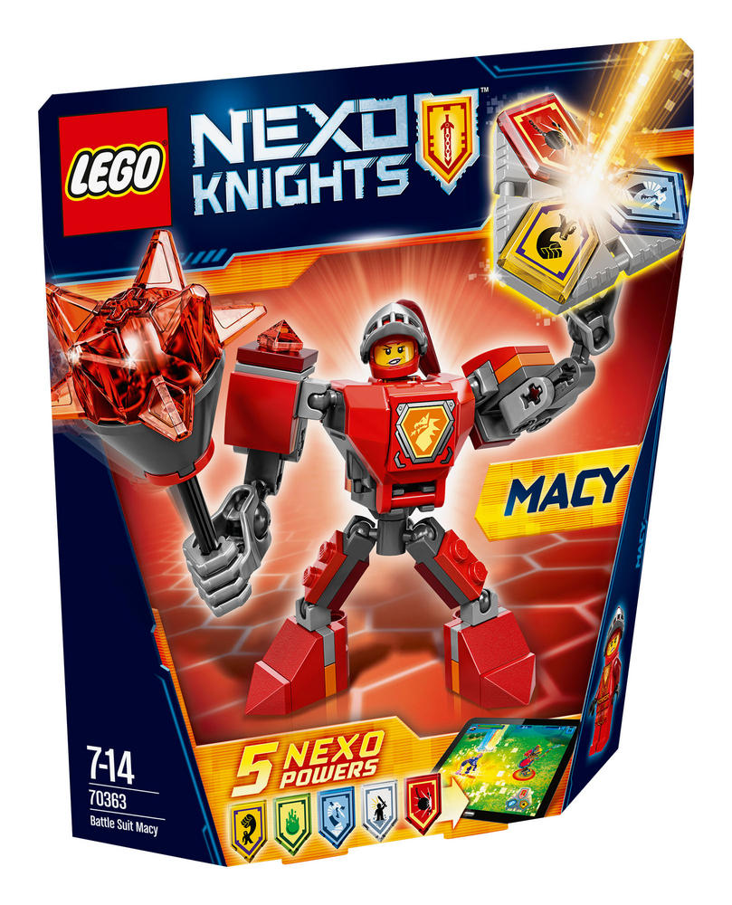 70363 LEGO Battle Suit Macy NEXO KNIGHTS