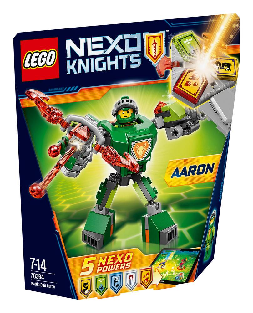 70364 LEGO Battle Suit Aaron NEXO KNIGHTS