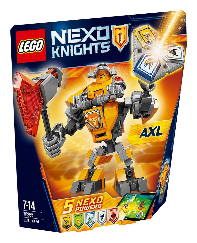 70365 LEGO Battle Suit Axl NEXO KNIGHTS