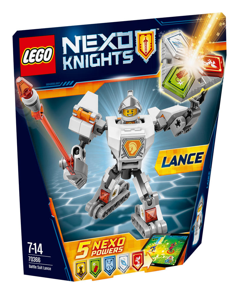 70366 LEGO Battle Suit Lance NEXO KNIGHTS