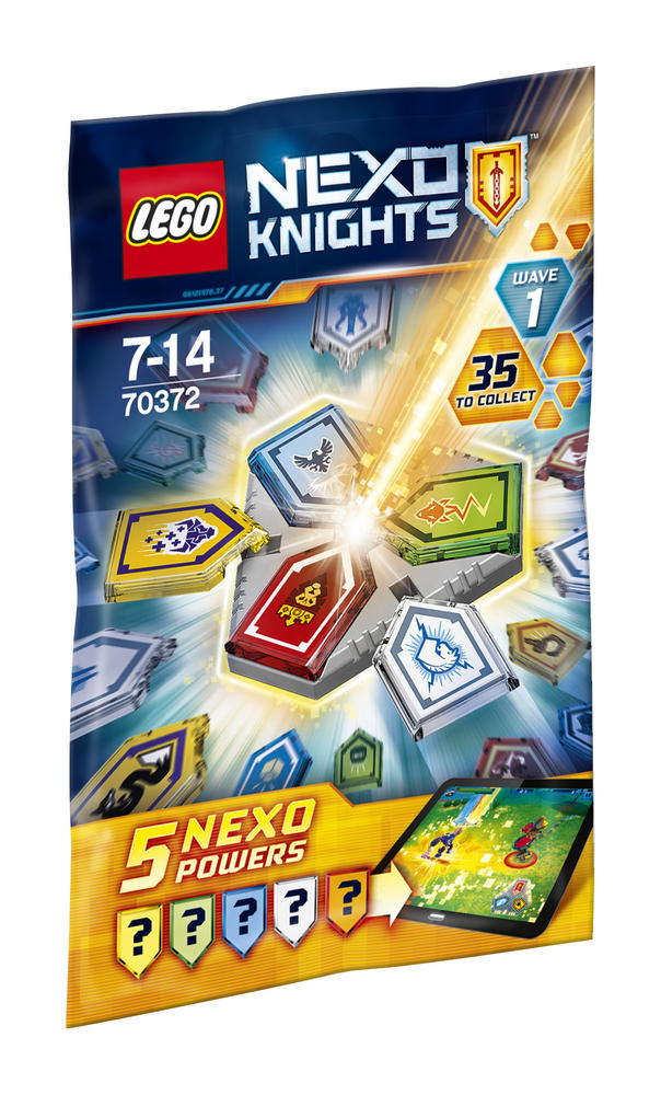 70372 LEGO Combo Nexo Powers Wave 1 NEXO KNIGHTS