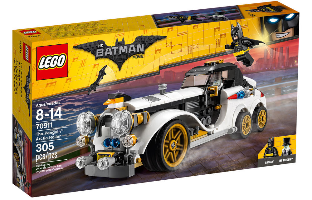70911 LEGO The Penguin? Arctic Roller BATMAN MOVIE