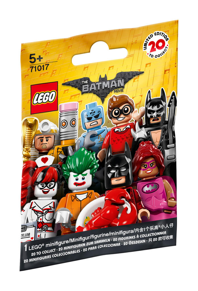 71017 LEGO Batman Movie MINIFIGURES