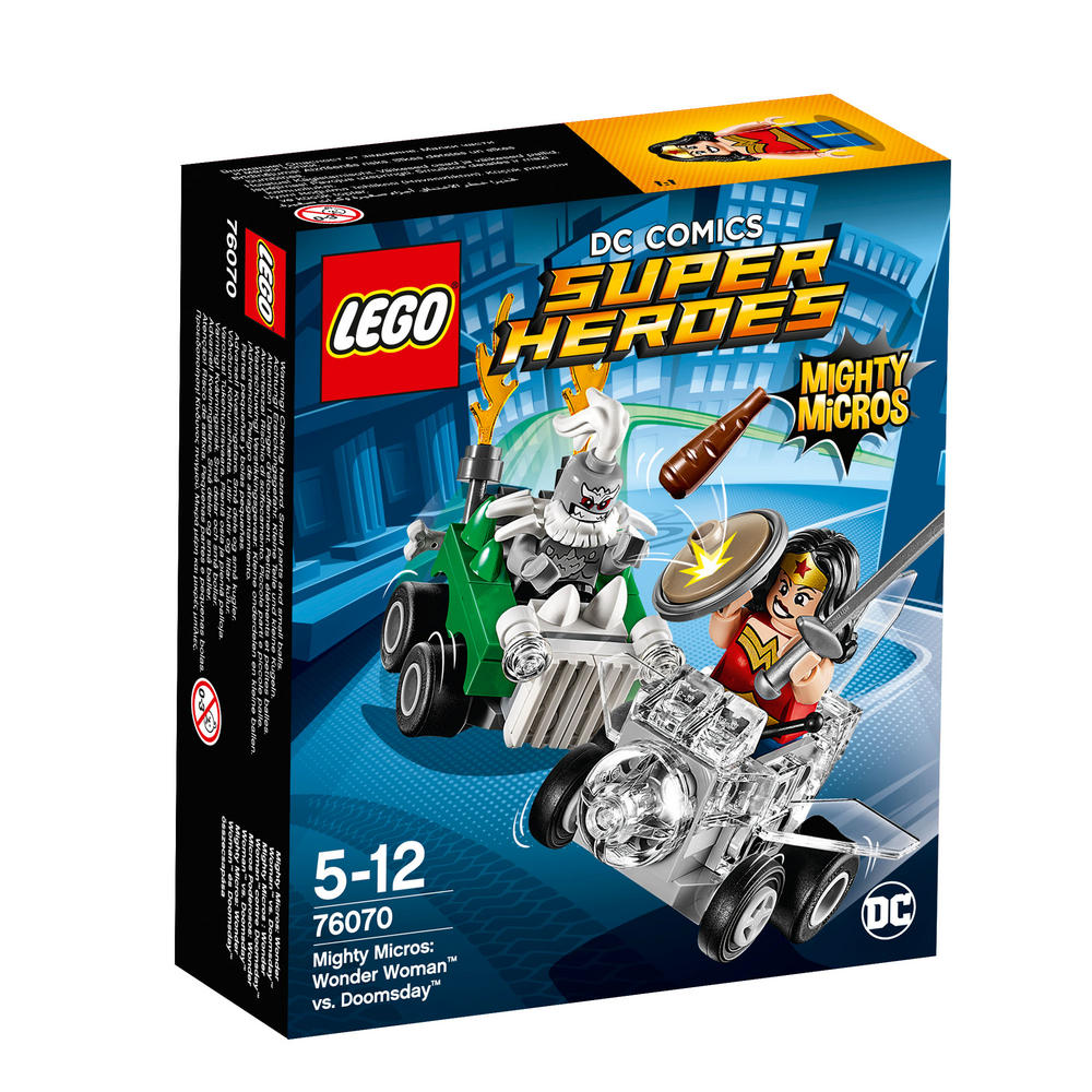 76070 LEGO Mighty Micros: Wonder Woman? vs. Doomsda SUPER HEROES