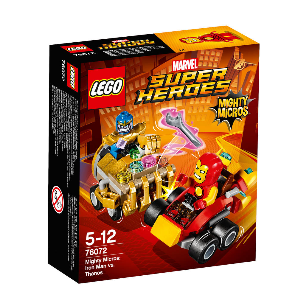 76072 LEGO Mighty Micros: Iron Man vs. Thanos SUPER HEROES