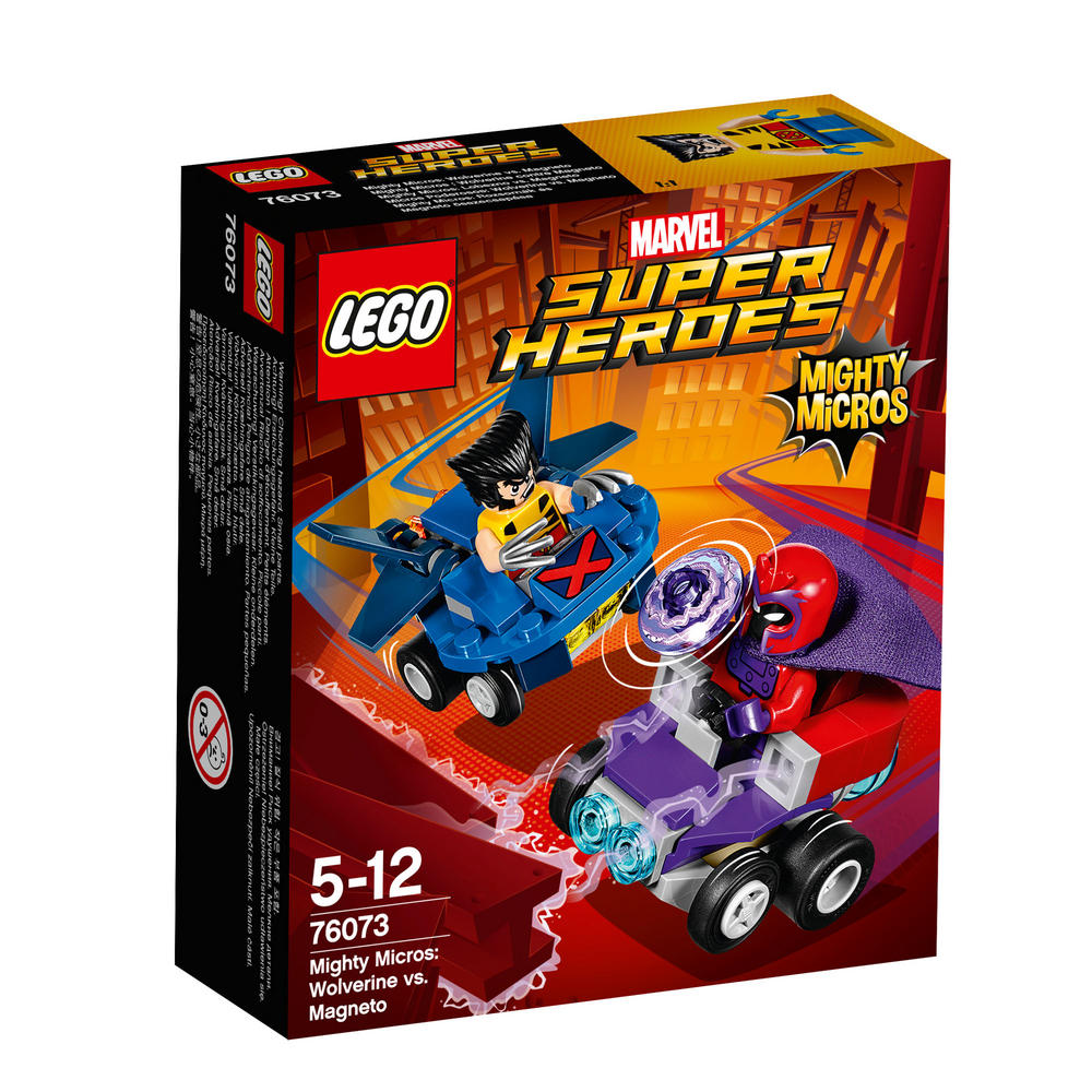 76073 LEGO Mighty Micros: Wolverine vs. Magneto SUPER HEROES