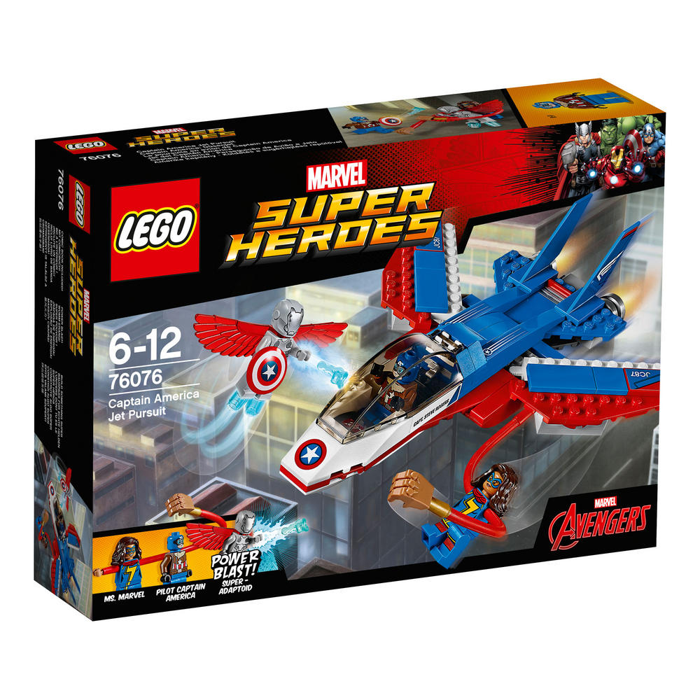 76076 LEGO Captain America Jet Pursuit SUPER HEROES