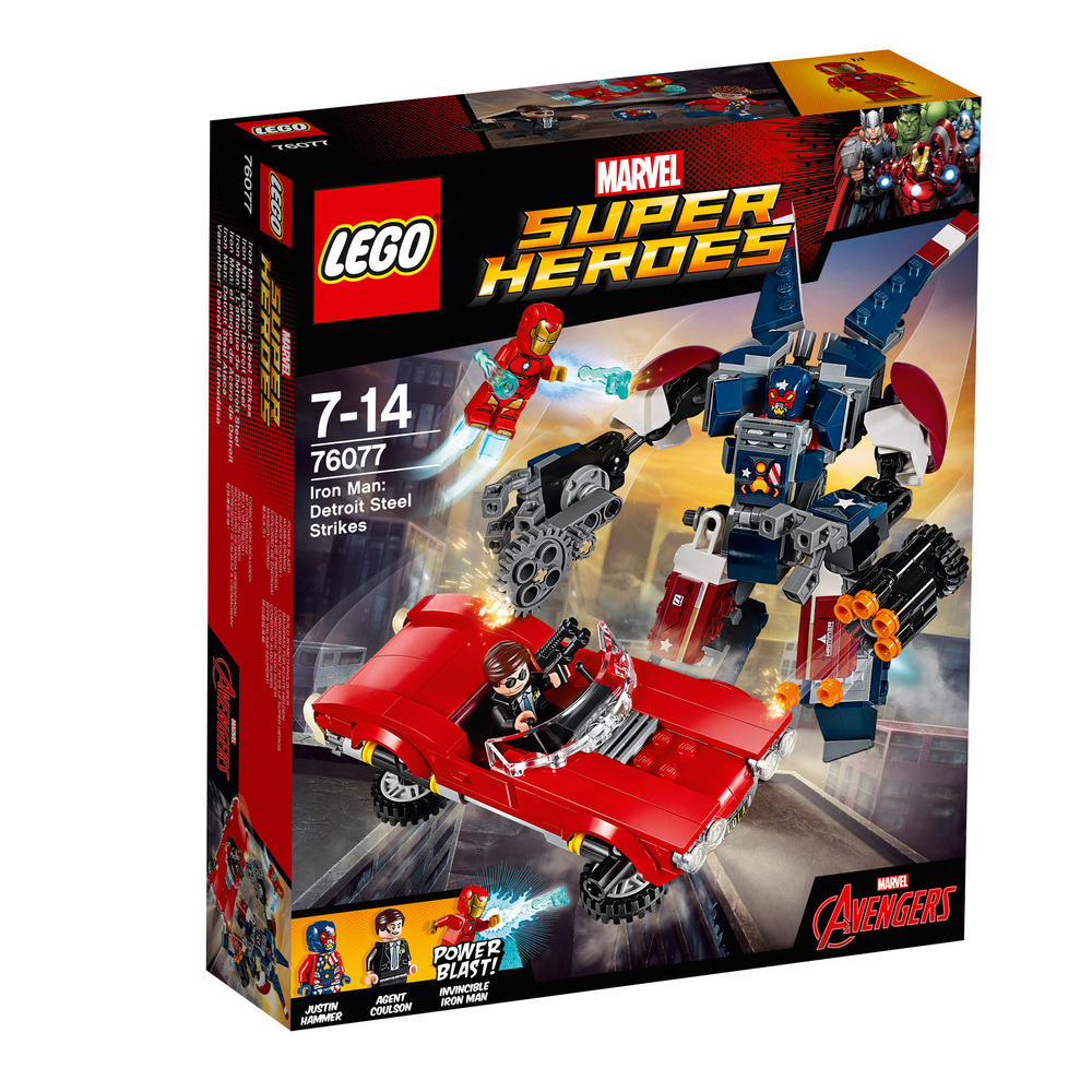 76077 LEGO Iron Man: Detroit Steel Strikes SUPER HEROES