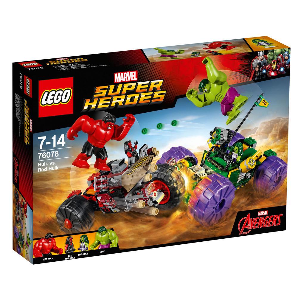 76078 LEGO Hulk vs. Red Hulk SUPER HEROES