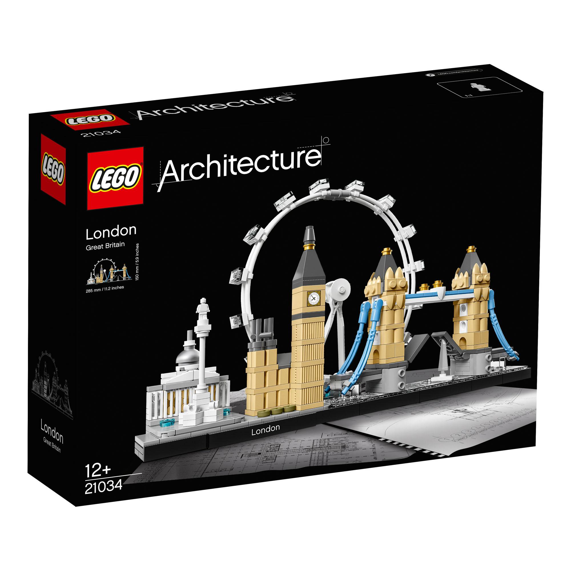 21034 LEGO Architecture London Landmarks 468 Pieces Age 12 Baukästen & Konstruktion LEGO Bausteine & Bauzubehör New for 2017!