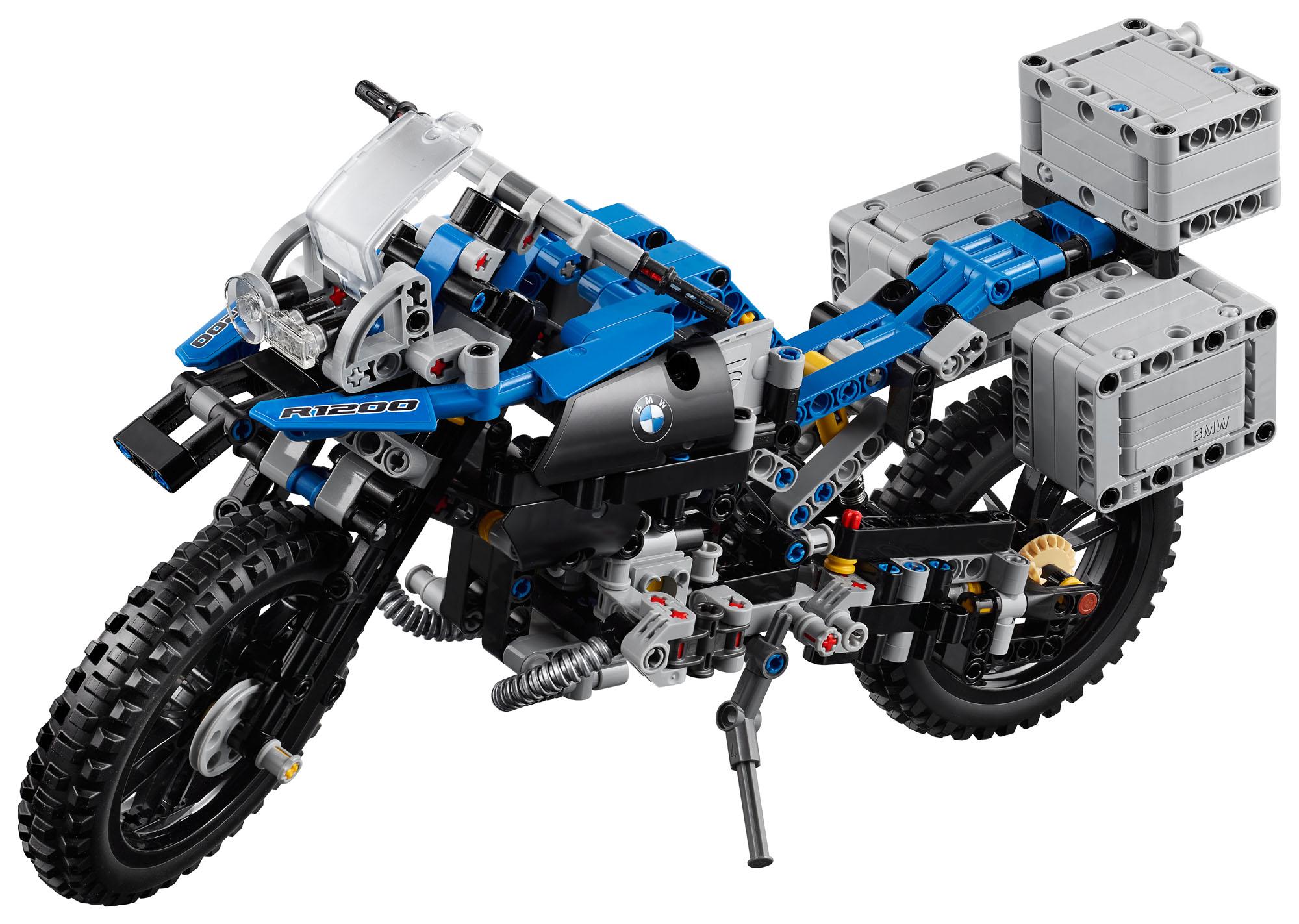 42063 lego technic bmw r 1200 gs adventure motorbike 603 pcs age 10 16