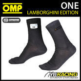 IAA/724 OMP LAMBORGHINI BLACK SHORT SOCKS