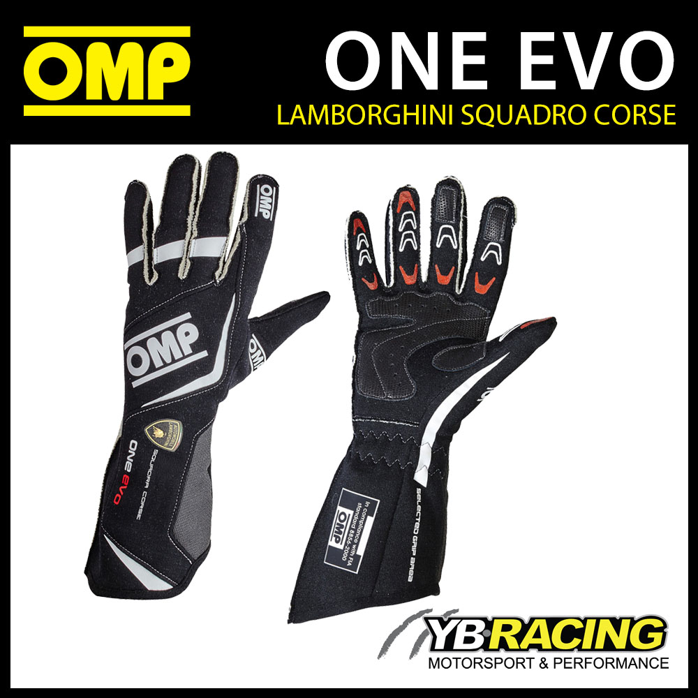 IB/759 OMP ONE EVO LAMBORGHINI SPECIAL EDITION GLOVES